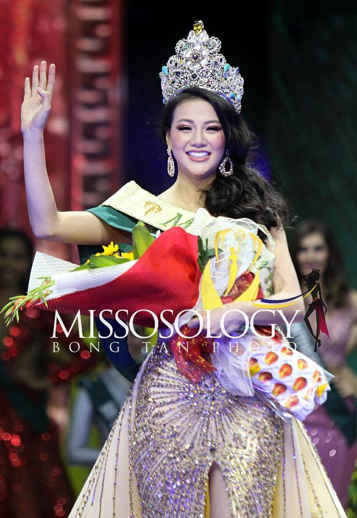 Phương Khánh xuất sắc chốt hạ vị trí #5, cao điểm hơn cả người chiến thắng Miss World – Miss International.
