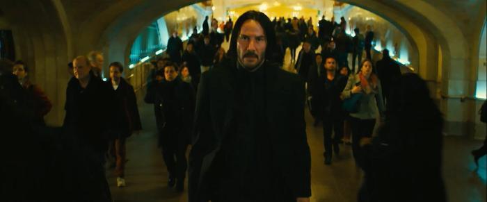Keanu Reeves trong trailer đầu tiên của John Wick: Chapter 3  Parabellum chạy trối chết như đang chơi Running Man ảnh 12