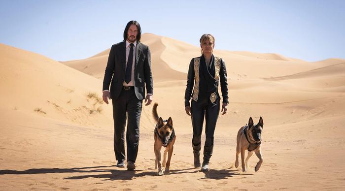 Keanu Reeves trong trailer đầu tiên của John Wick: Chapter 3  Parabellum chạy trối chết như đang chơi Running Man ảnh 5