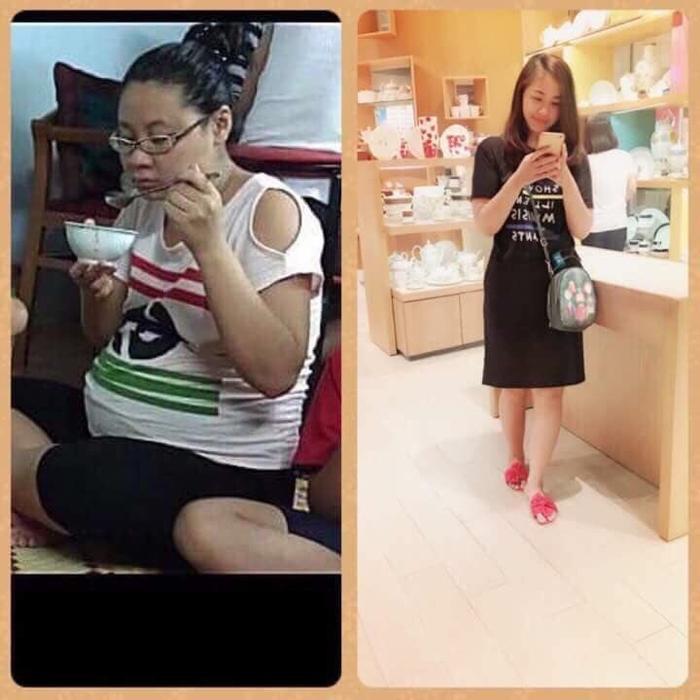 Theo trend 'thử thách 9 tháng 10 ngày', mẹ bỉm sữa khoe giảm từ 70kg xuống 49kg ngoạn mục khiến chị em ngưỡng mộ