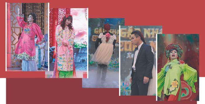 Trang phục dành cho Cô Đẩu năm nào cũng được khán giả hào hứng chờ đợi.