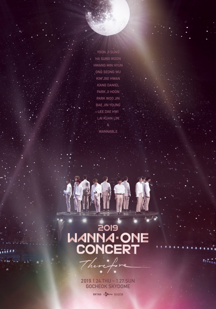Poster concert cuối cùng của Wanna One.
