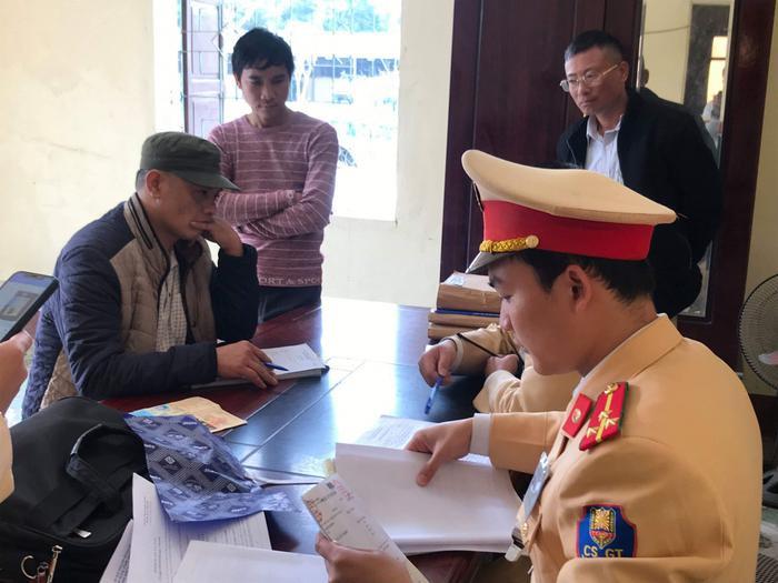 Tổng kiểm tra trên địa bàn Nghệ An, công an phát hiện 8 tài xế dương tính với chất ma túy