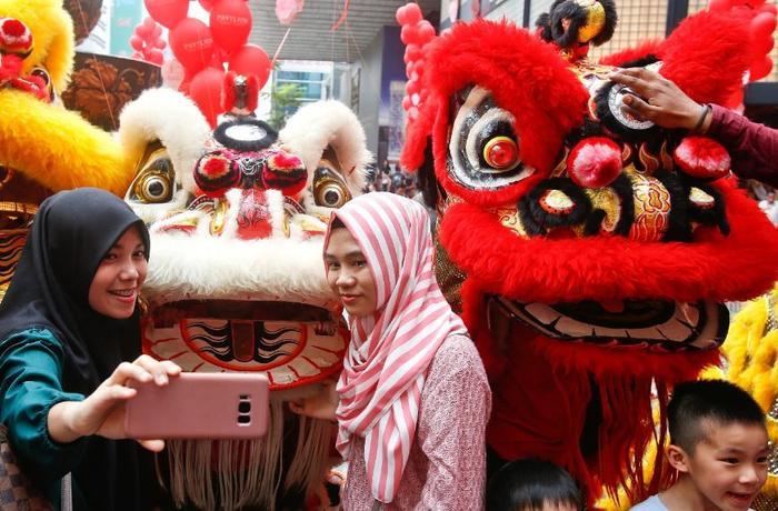 Tết âm lịch tại Malaysia. (Ảnh: SBS)