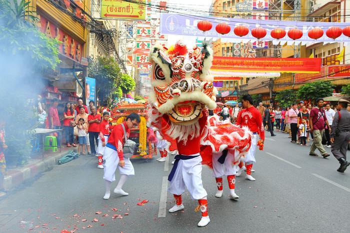 Tết âm lịch tại Thái Lan. (Ảnh: Bangkok)