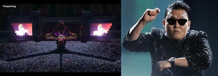 Concert của Psy ngày càng đông người nhờ Gangnam Style.
