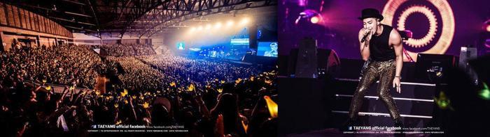 Taeyang và concert đầu tiên của mình.