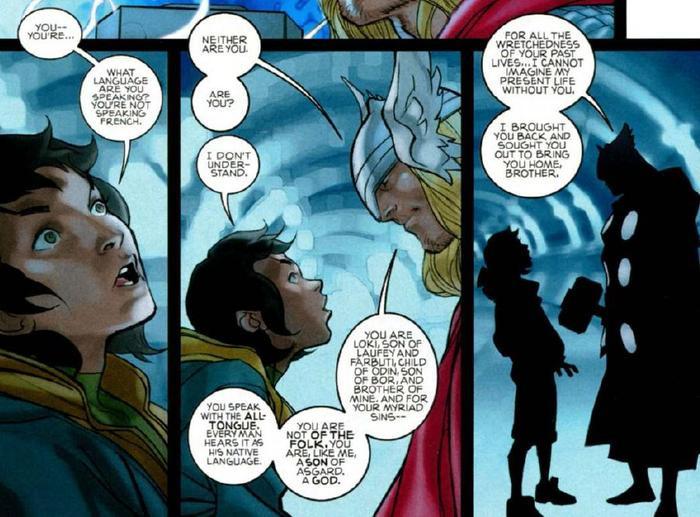 Lời giải thích của Thor