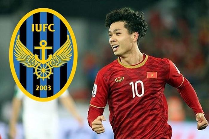 Công Phượng sang Hàn Quốc thi đấu.