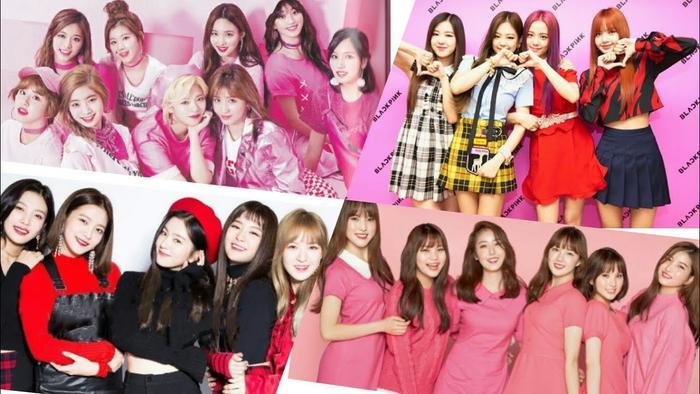 Trong số 4 nhóm nhạc nữ thành công nhất hiện giờ , chỉ có Red Velvet rớt khỏi top 3 BXH.