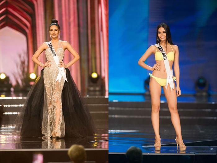 Hoa hậu Hoàn vũ Thái Lan phải nằm bất động trên ô tô tới sự kiện vì bộ đồ mẫu nghi thiên hạ ảnh 6