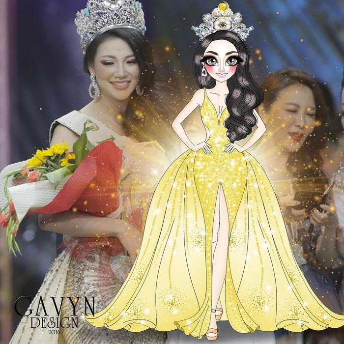 Đương kim Hoa hậu Trái đất Phương Khánh.
