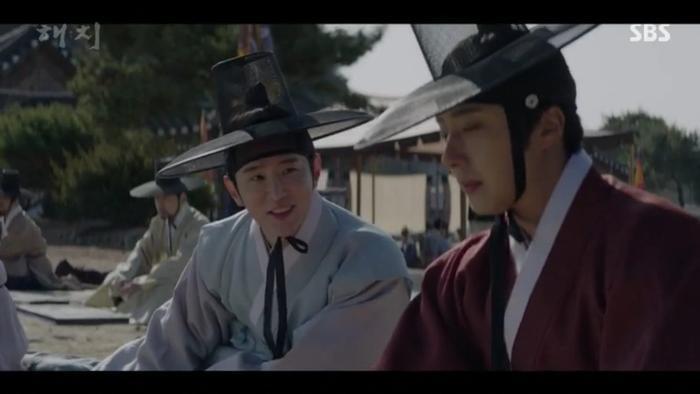 Haechi tập 1: Khán giả Hàn đẩy thuyền Jung Il Woo  Kwon Yul, khen Go Ara đẹp khi cải trang thành kỹ nữ ảnh 4