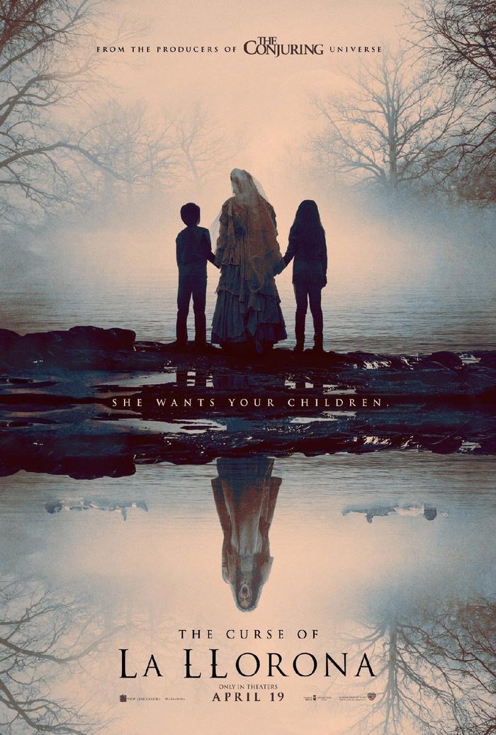 Poster chính thức của The Curse of La Llorona.