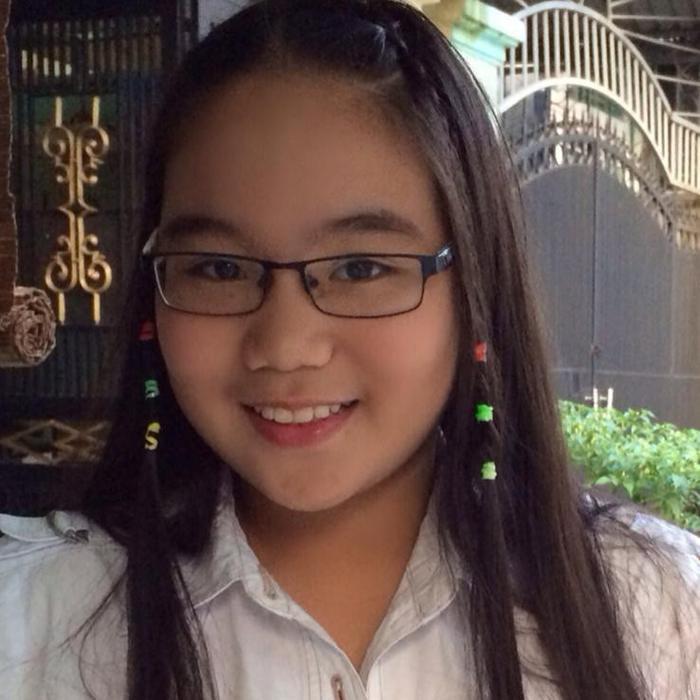 Hình ảnh Khánh Ngân khi còn nhỏ