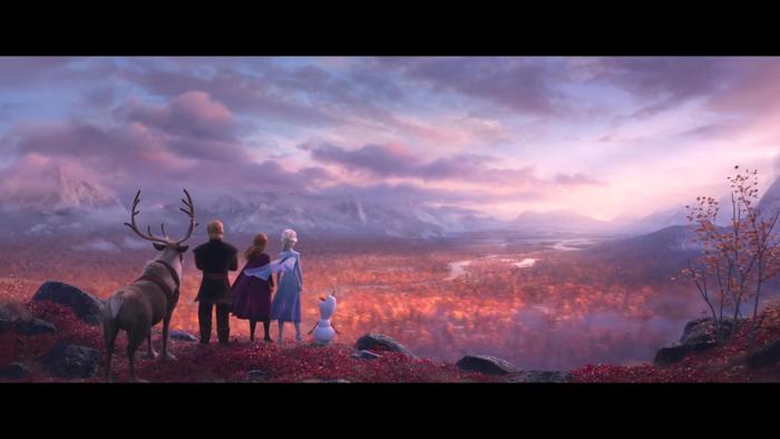 Dàn nhân vật chính đều sẽ góp mặt trong Frozen 2.