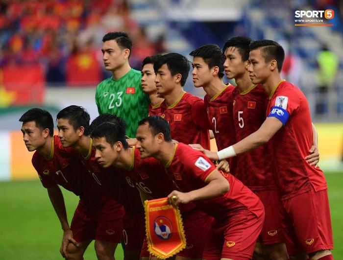 Đội tuyển Việt Nam trẻ nhất Asian Cup 2019. Ảnh: Hiếu Lương.