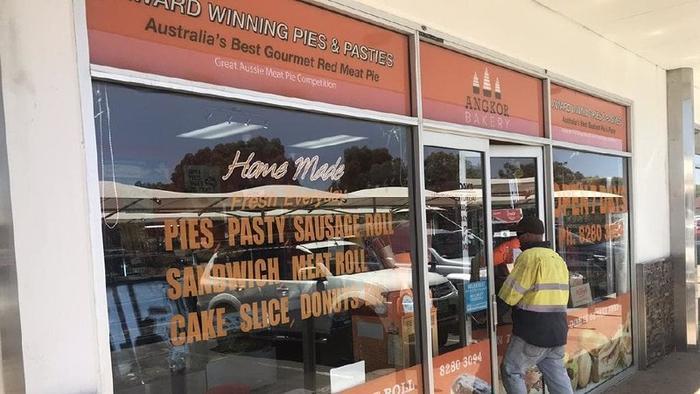 Một cửa hàng bánh Angkor Bakery tại Adelaide. Ảnh: NEWS.COM.AU