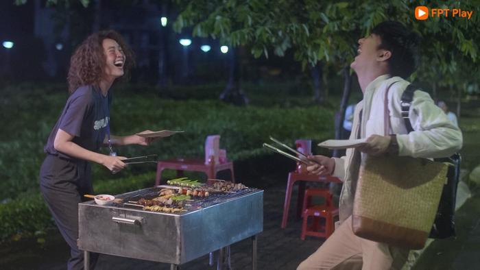 """Từ """"oan gia"""", An Chi và Minh Huy đang dần thân thiết"""