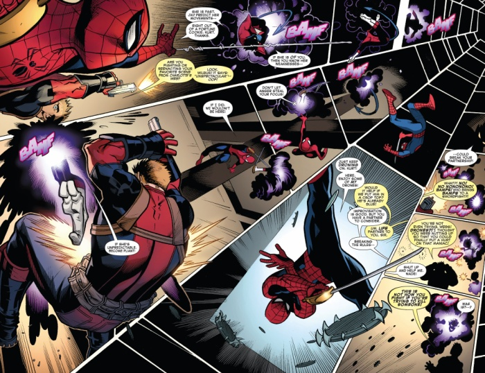"Spider-Drone, trong ""Spider Man/ Deadpool #14"""