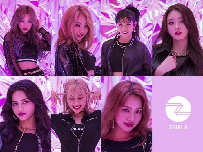 7 thành viên Z-GIRLS.
