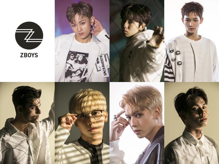 6 thành viên Z-BOYS.