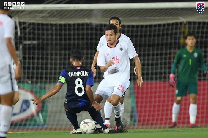 U22 Campuchia đã có trận đấu quả cảm trước Thái Lan.