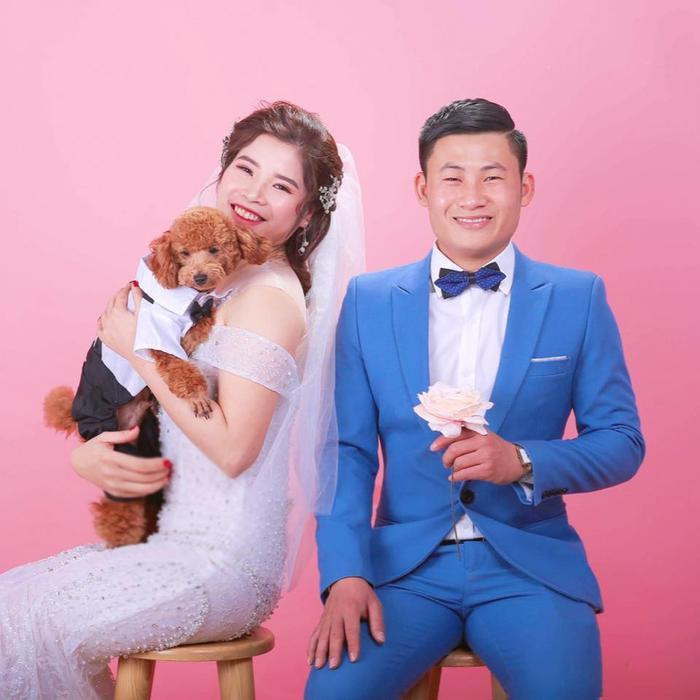 Ảnh cưới của cặp đôi. Ảnh: Vietnamnet