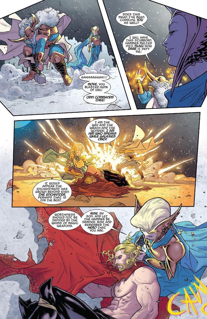 """Odin bất lực trong """"Thor (2014) #1"""""""