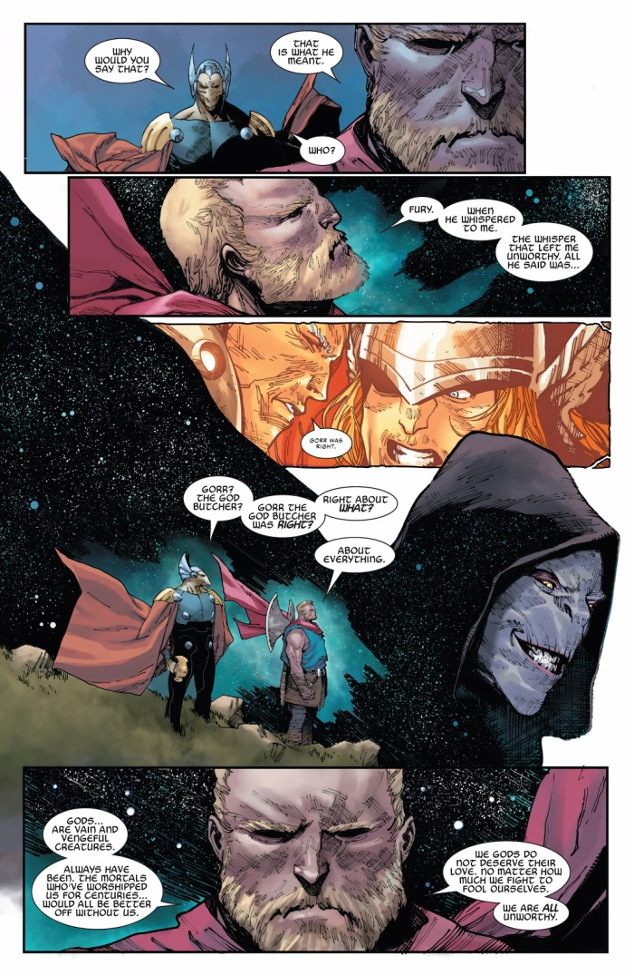 """Thor thừa nhận: """"Tất cả chúng ta đều không xứng đáng"""""""