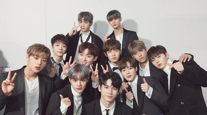 11 cựu thành viên Wanna One.