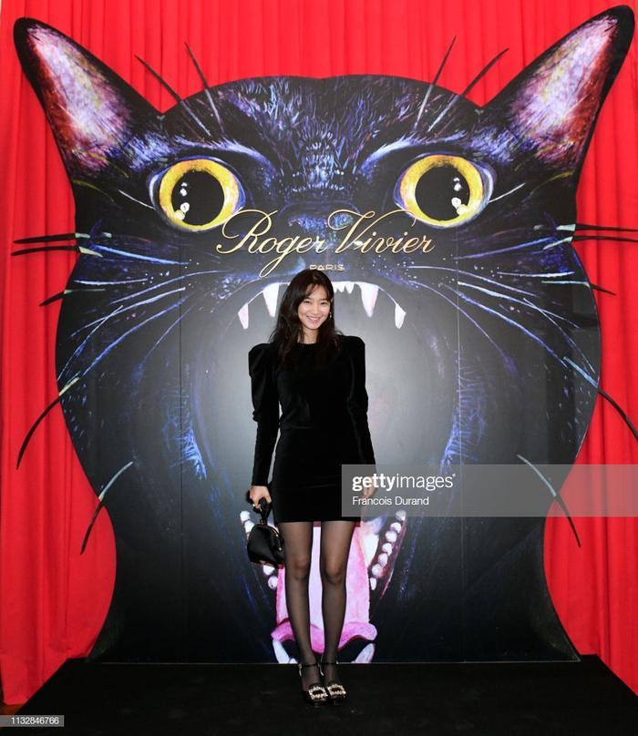Shin Min Ah tại sự kiện.