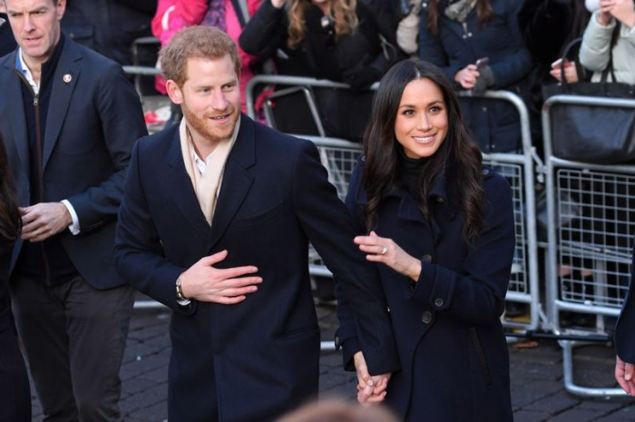 Hoàng tử Harry và vợ.