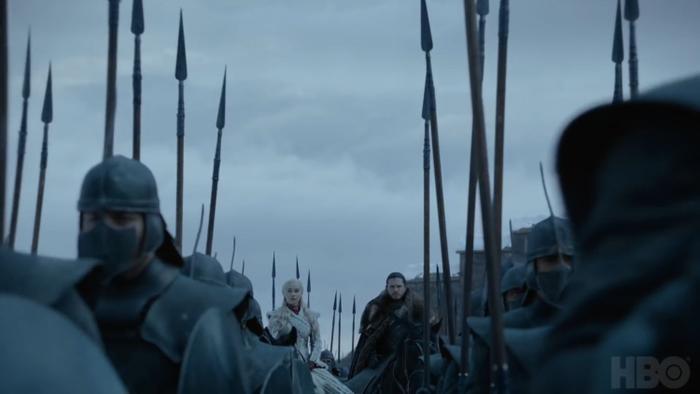 'Game of Thrones' Season 8 tung trailer cực nóng: Arya bị thương, Jon Snow cưỡi rồng ảnh 11