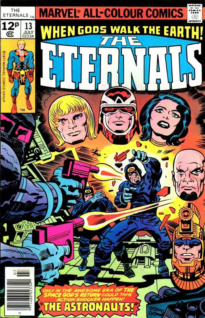 Tại sao Eternals lại không xuất hiện từ Infinity War hay Endgame? ảnh 2