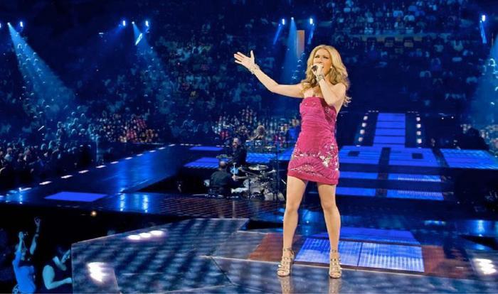 Celine Dion chẳng kém cạnh với vị trí thứ hai.