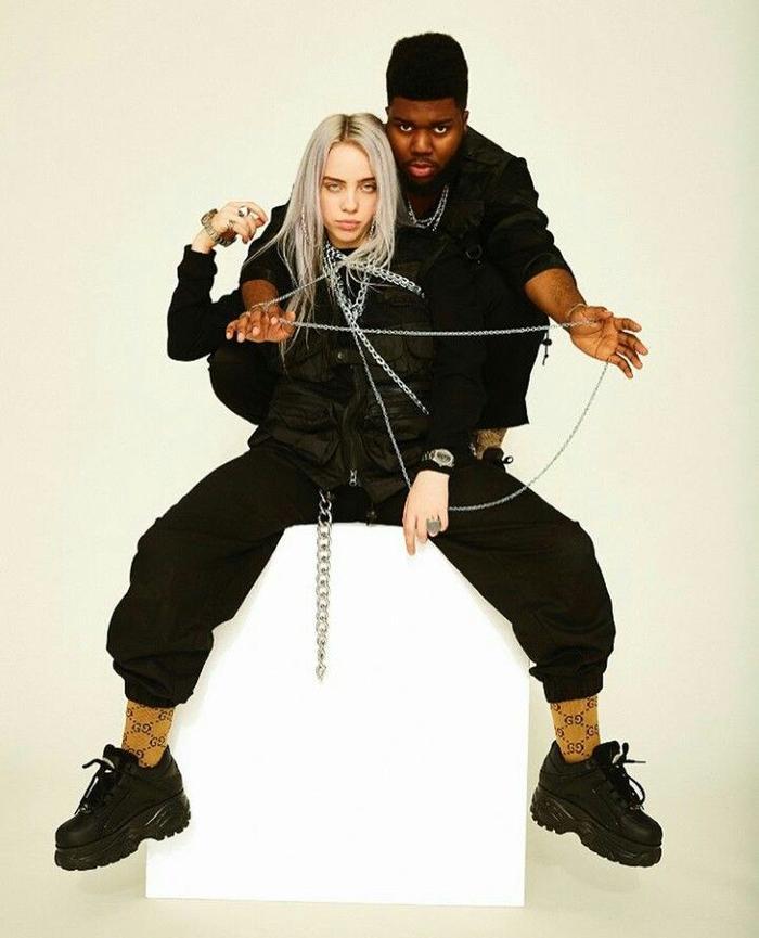 Billie Eilish từng sử dụng cách này bằng bản hợp tác với nam ca sĩ Khalid.
