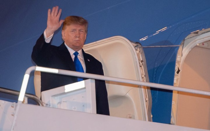 Tổng thống Mỹ đến Hà Nội bằng chuyên cơ Air Force One.