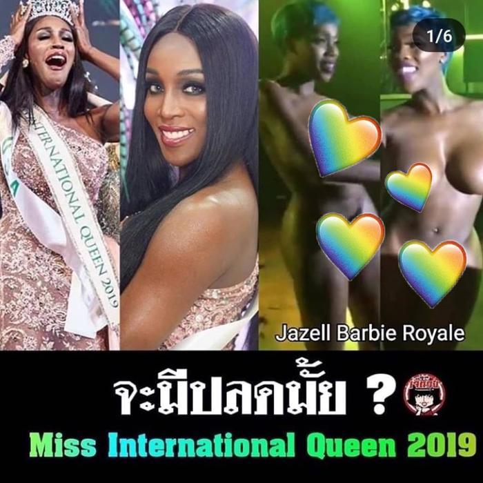 """Fan Thái Lan lên tiếng """"đòi công đạo"""" và không chấp nhận trước những hình ảnh phản cảm này của Tân hoa hậu"""