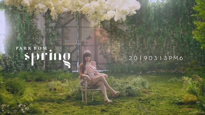 'Highlight Medle' của Park Bom cho album Spring: Vocal vẫn rất đỉnh! ảnh 2