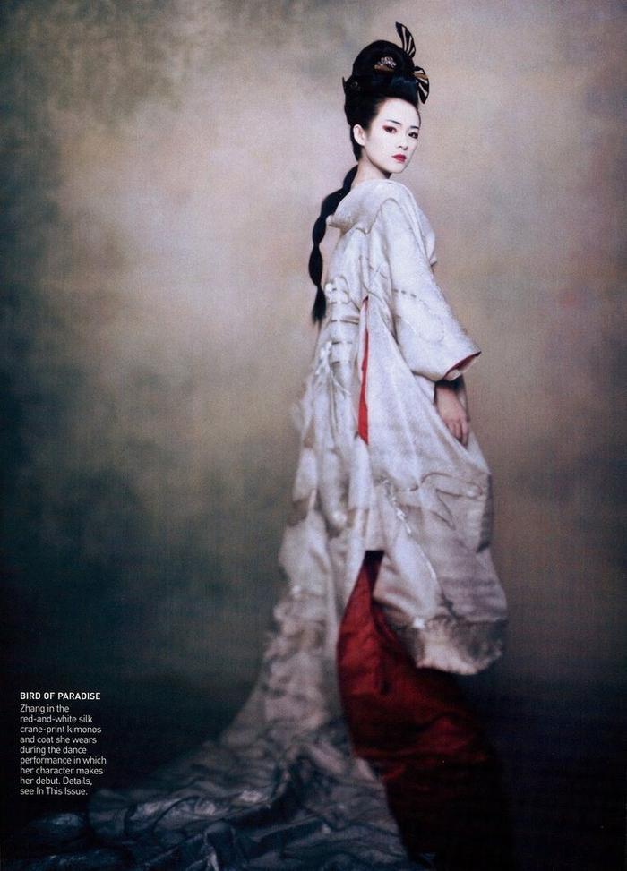 Những nữ minh tinh Trung Quốc xuất hiện trên tạp chí Vogue (Mỹ) được khen gợi đẹp như tranh ảnh 6
