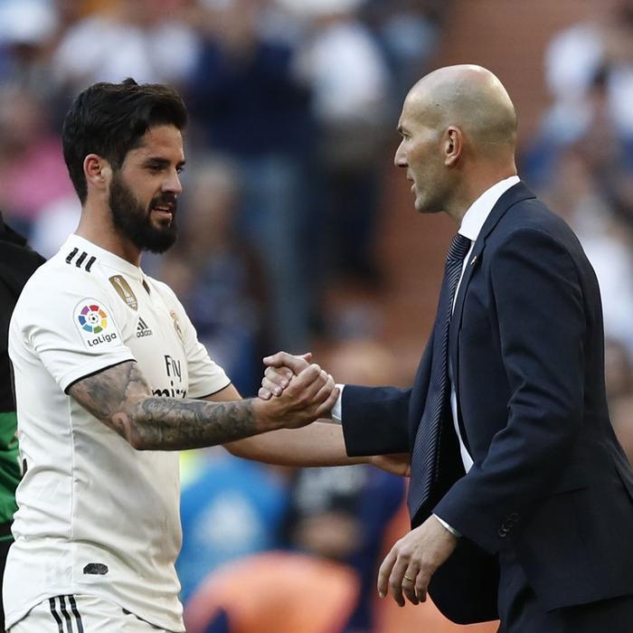 Zidane đã có màn tái xuất khá thành công.