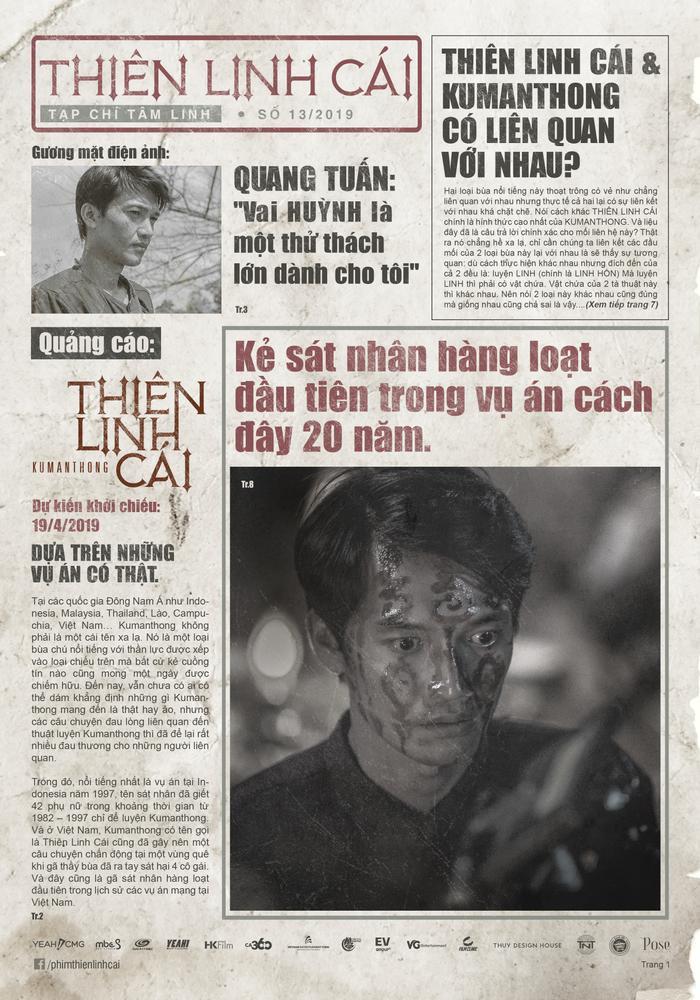 """Huỳnh của Quang Tuấn là """"dựa trên những vụ án có thật"""""""