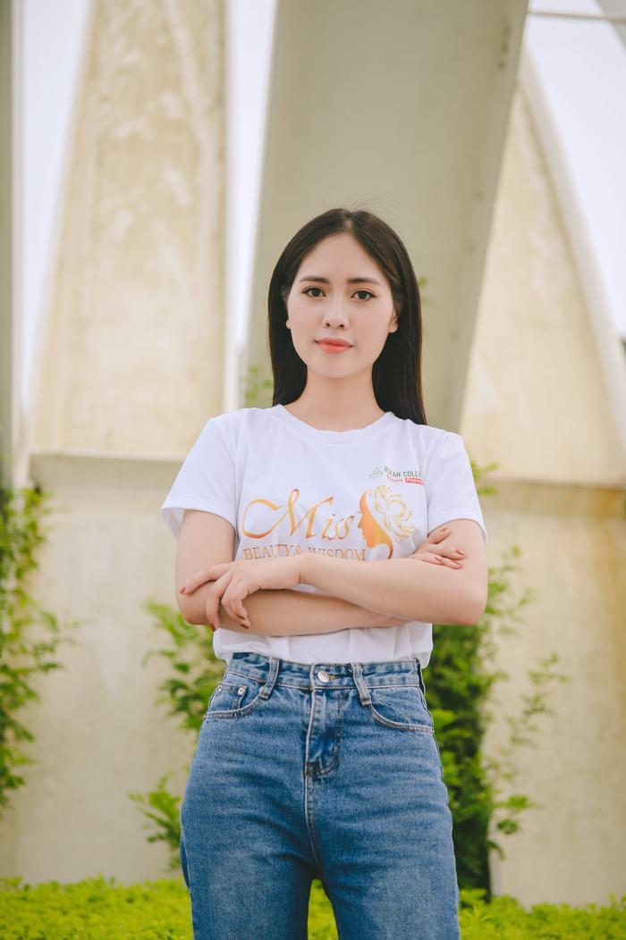 Thí sinh Trần Thị Thùy Trang (MA06), 22 tuổi, đến từ Hưng Yên