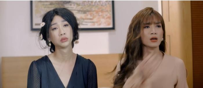 BB Trần và Hải Triều đấu đá trong parody Anh đang ở đâu đấy anh.