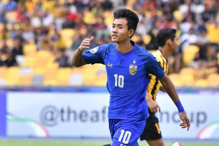 Mueanta trở thành gương mặt nổi bật trong đội hình U23 Thái Lan.