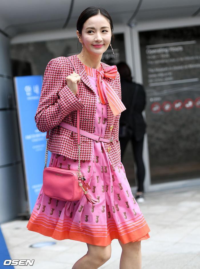 Diễn viên Yoon Hye Young.