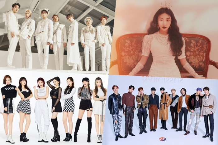 Tất cả các nghệ sĩ góp mặt trong sự kiện đều thuộc Gen3, Gen4 của Kpop.