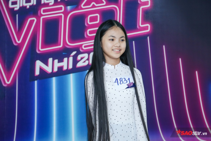 Ngắm loạt hot boy, hot girl đổ bộ vòng tuyển sinh Giọng hát Việt nhí 2019 ảnh 0
