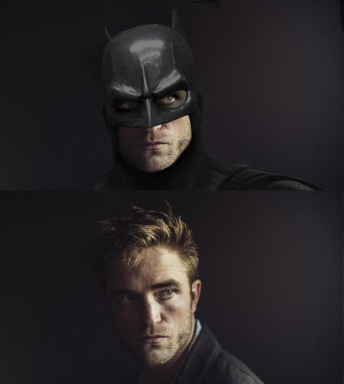 Tạo hình giả định cho Robert Pattinson trong vai Batman.